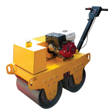 Asphalt Hand Double Drum Vibratory Roller  Machine